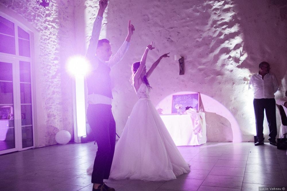 Piste de danse Domaine Pascaud
